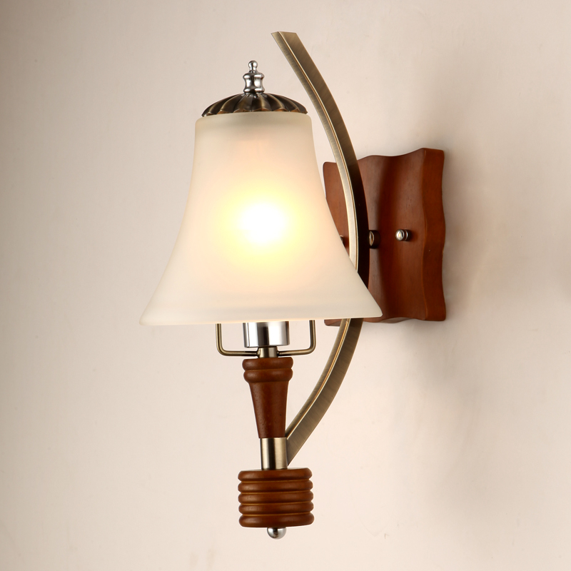 Free shipping Fashion vintage style  bed-lighting american stair wall lamp american rustic single head wall lamp fashion vintage bed lighting wall lamp