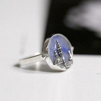 Handmade Jade Silver Ring3