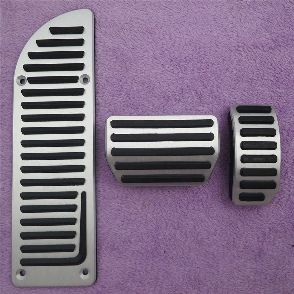 DEE алюминиевые автомобильные аксессуары для VOLVO XC60 S60 S80L S60L V60 V70 на акселераторе газа ног модифицированные педали - Название цвета: 3 PCS