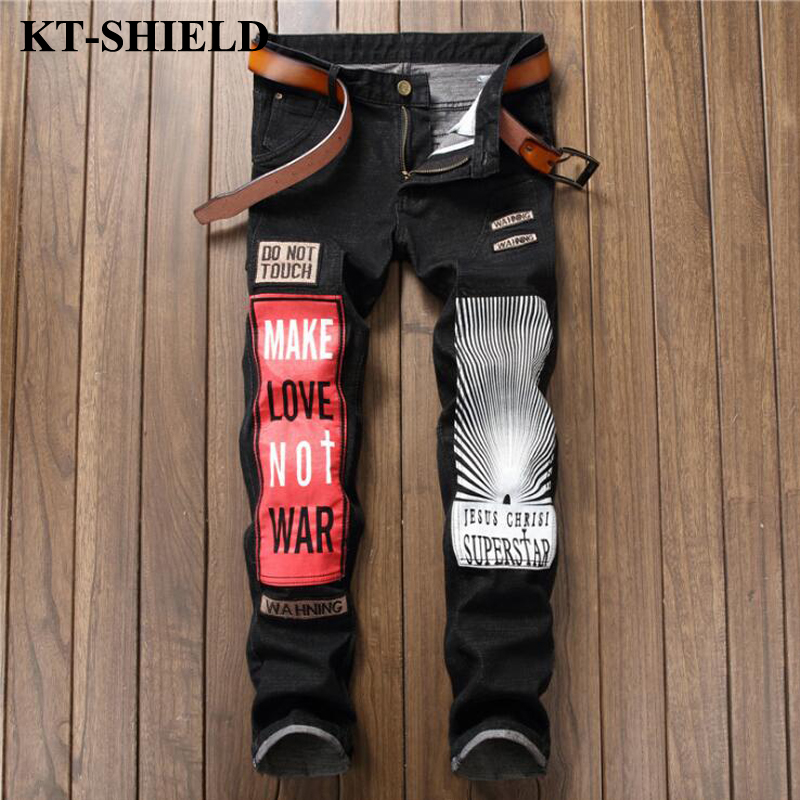 Men Skinny Jeans Brand Clothes Fashion Denim Mens Hip Hop Jeans Casual Men Harem Pants Designer Hip Hop Large Size 29-38 fashion mens male pants brand zipper jeans men hip hop pants slim hole patch casual jeans fashiontrouser for men free shipping