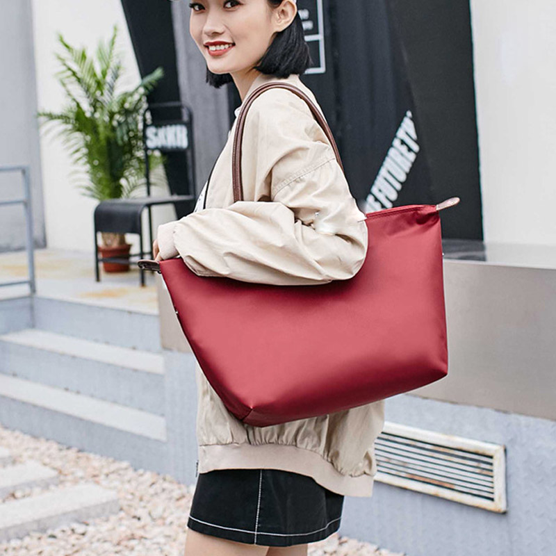 2019 New Nylon Dumpling Bags Women Handbag Large Capacity Clutch Tote Bag Women Shoulder Bags Shopping Travel Beach Bag Bolsas2019 New Nylon Dumpling Bags Women Handbag Large Capacity Clutch Tote Bag Women Shoulder Bags Shopping Travel Beach Bag Bolsas