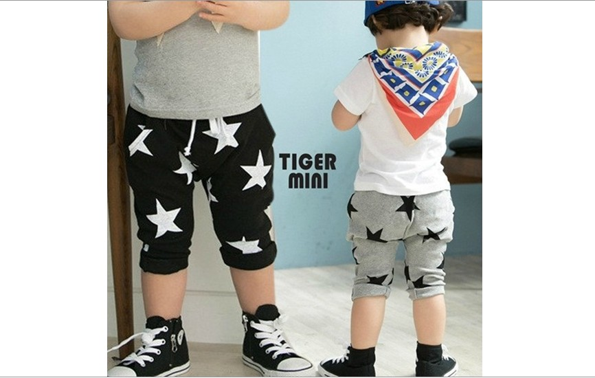 ФОТО Boys Children Shorts Fit 3-7Yrs Baby Kids  Middle Pants Trouse Clothing 5Pcs/Lot 5 Size Same Color Free Shipping