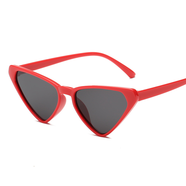 Sexy Cat Eye Triangle Sun Glasses