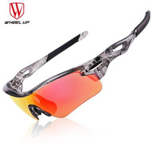 WHEEL UP HD Polarized Cycling Glasses Coating Outdoor Sports Goggles Waterproof UV400 Riding Driving Bicycle Eyewear