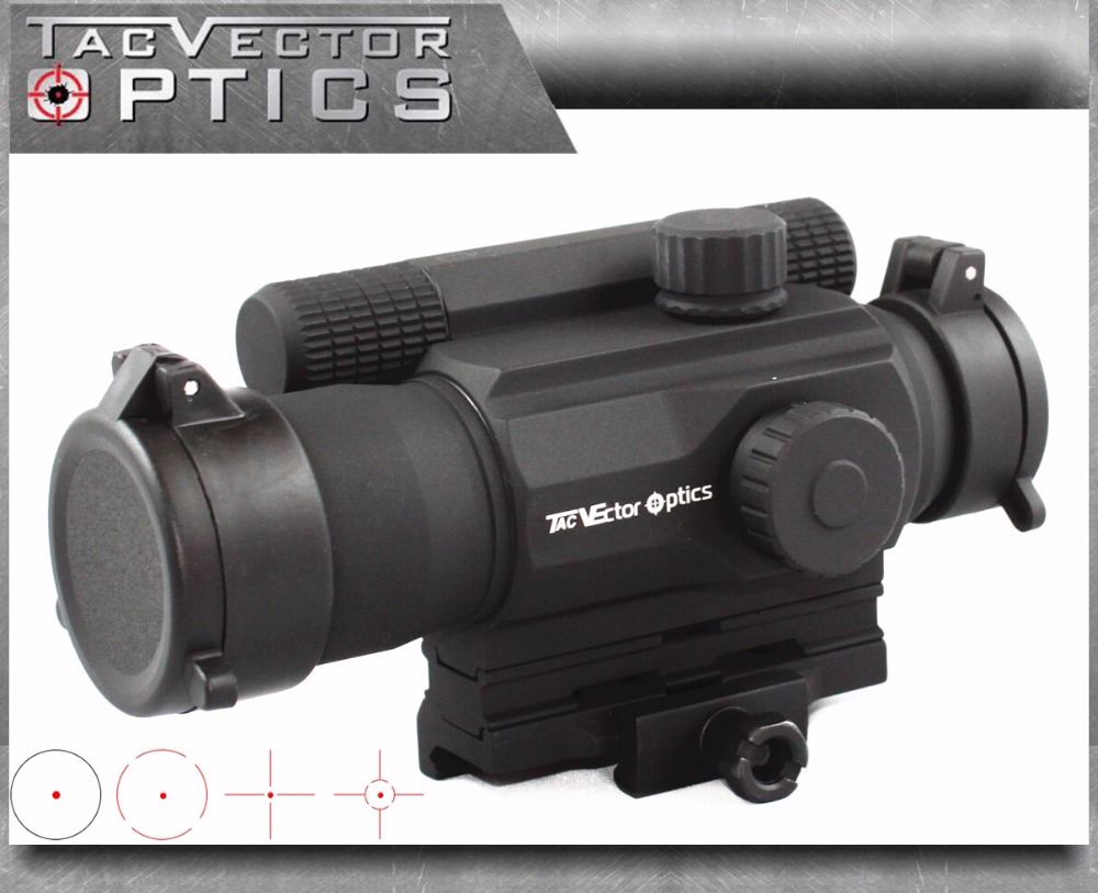 Vector Optics Tempest 1x35 Multi Reticle Tactical Red Dot Scope Mil-spec Matte Finish fit Picatinny Rail Low for Night Vision набор для вышивания крестиком rto никогда не унывай