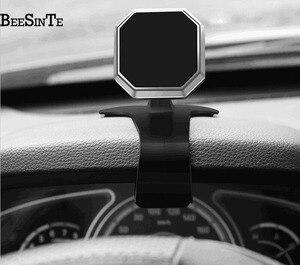 Image 3 - Điện thoại người giữ xe siêu từ tính điện thoại đứng 360 Rotation Không Khí Núi chủ trong Xe cho iPhone 5 7 8 cho samsung Phổ đứng
