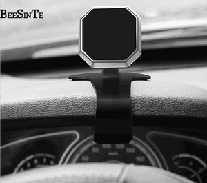 Image 3 - phone car holder super magnetic phone stand 360 Rotation Air Mount holder in Car for iPhone 5 7 8 for  Samsung Universal  stand