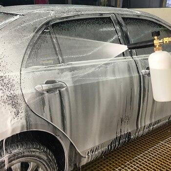 Coche de espuma de lavado de coches pistola presión chorro de lavado ajustable rápida nieve lanza espuma Cañón de espuma herramientas alta calidad