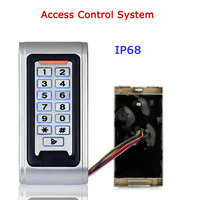 Door Access Control System Controller Waterproof IP68 Metal Case RFID Reader Keypad /SY5000W