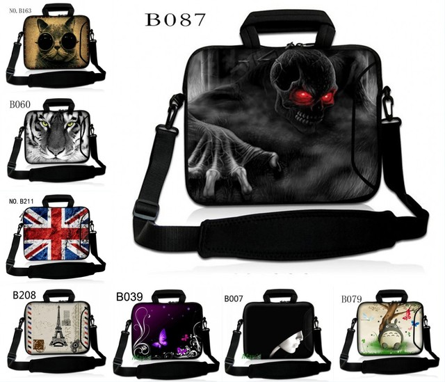 "10"" Laptop Sleeve Shoulder Bag Cover For 10.1"" HP Mini 110 210 / Ipad 2 3 4 /ASUS Transformer Book T100/T100TA"