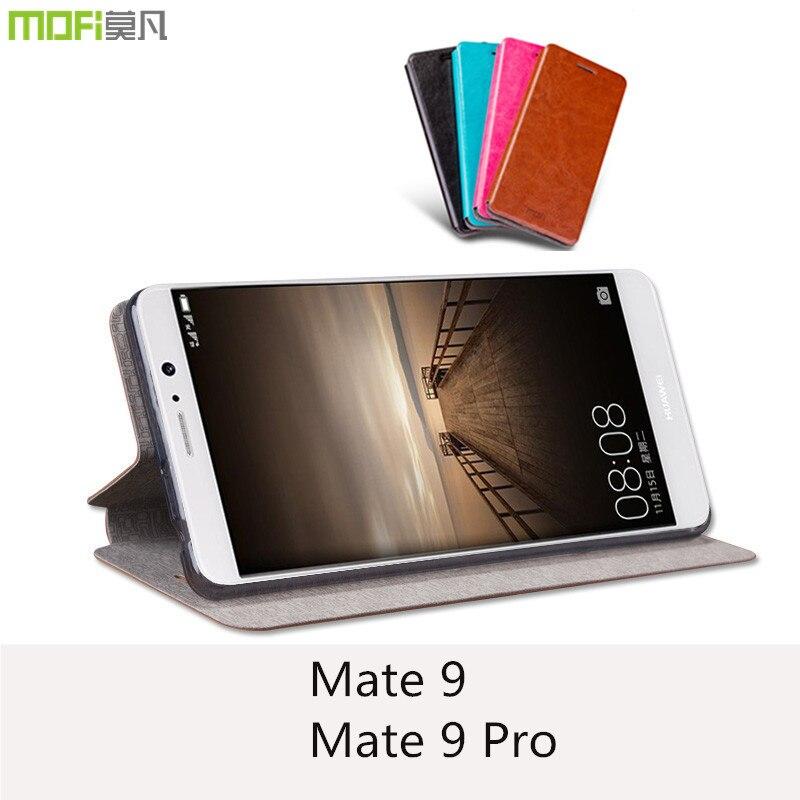 Huawei mate 9 pro case cover huawei mate 9 case flip case cover stand MOFi original