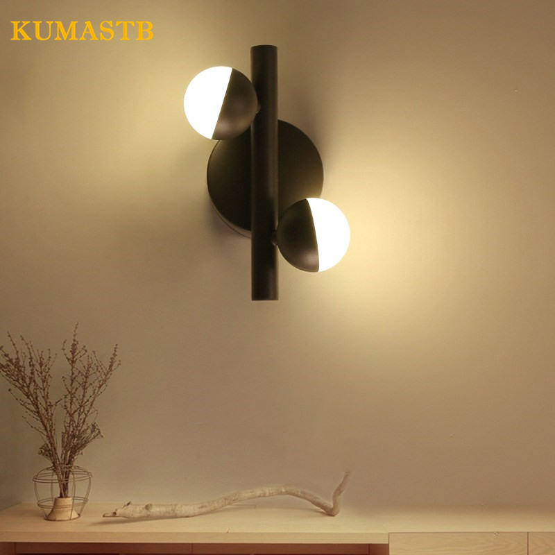 Modern Bedside Wall Light Living Room Cafe Bedroom Art Wall Lamp Parlor Office Study Lamp Modern Brief LED Wall Sconce modern lamp trophy wall lamp wall lamp bed lighting bedside wall lamp