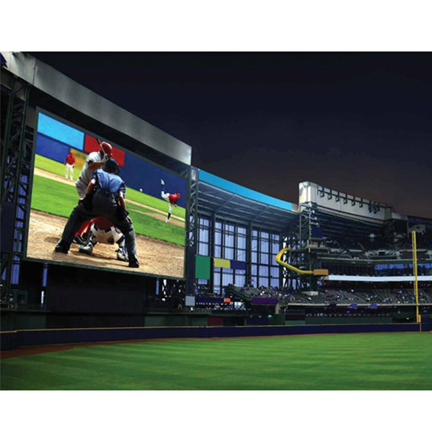 SMD 3535 Outdoor P10mm Led Module Full Color Led Display Screen Large Led Video Wall For Outdoor Usage