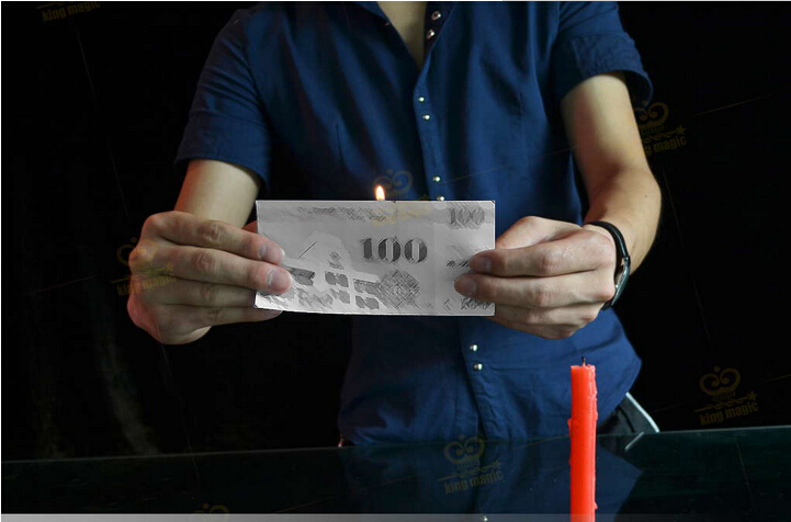 The Fire floating Candle light magic trick levination magic