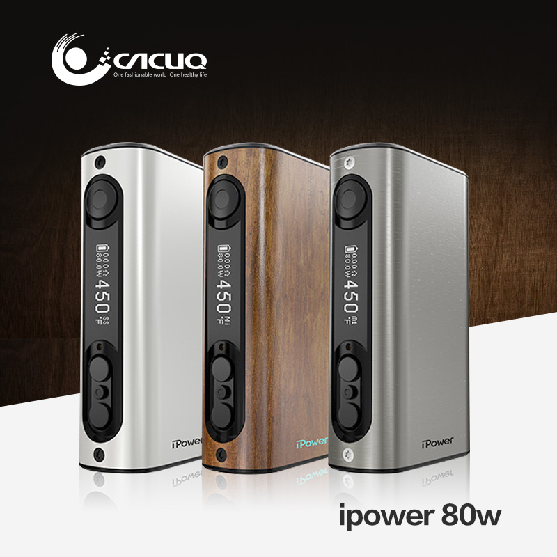 Original Eleaf ipower TC80W Temp Control Eleaf ipower 80W with 5000mah battery new firmware with smart