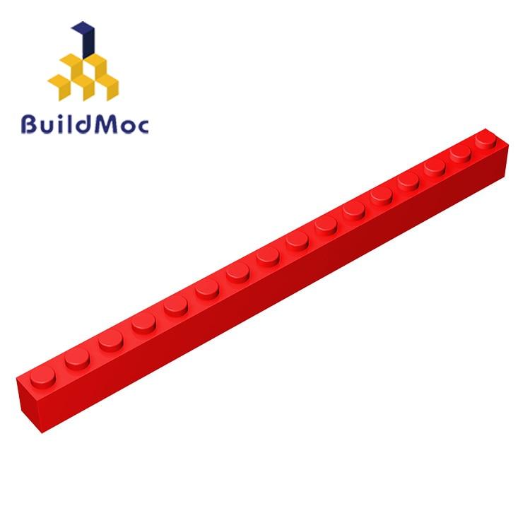 BuildMOC Compatible Legoing2465 1x16 For Building Blocks Parts DIY LOGO Educational Tech Parts Toys