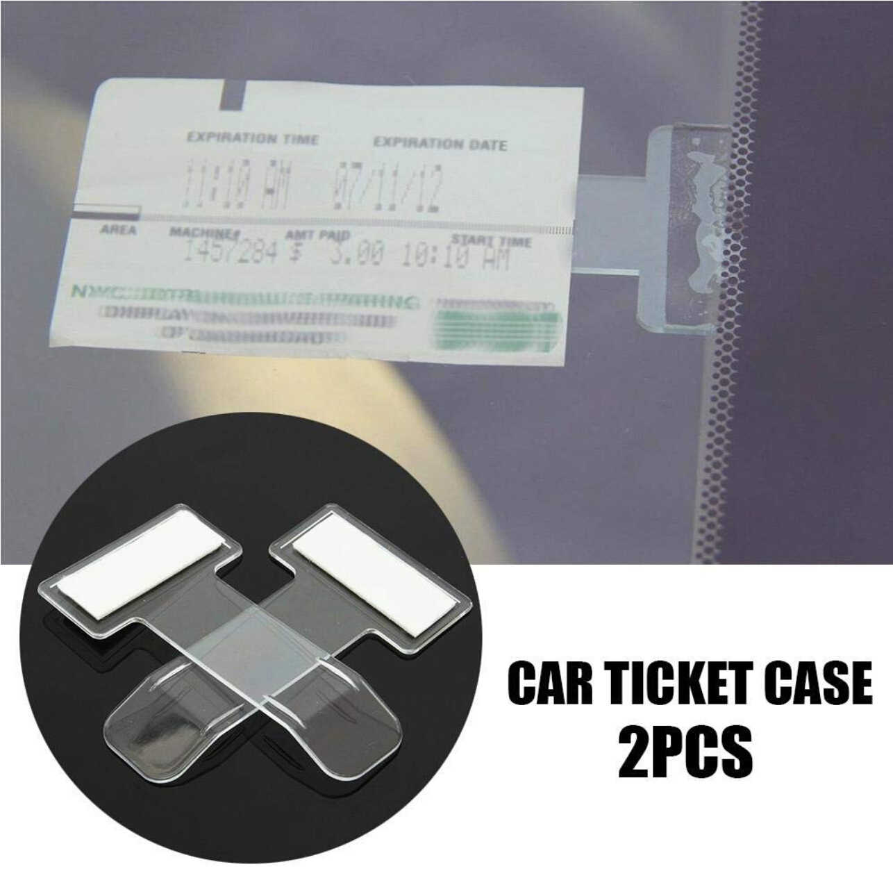 Pince pour Ticket de Parking fibre de carbone pour honda terran opel mokka mazda 6 2006 alfa romeo 159 renault megane 2