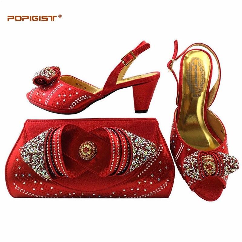 teal Et Femmes Chaussures Mode Mis peach Plus gold De Pompes Italie Blue Chaussure Mariage royal Taille La Africaine Femelle Sac purple Dames Ensemble red En Black RqAt7Aw