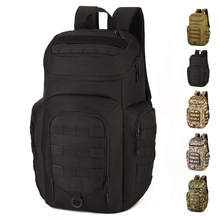 40L Outdoor Sports Backpack Nylon MOLLE Expand Tactics Assault Pack Versatile Climbing Camping Independent shoe warehouse