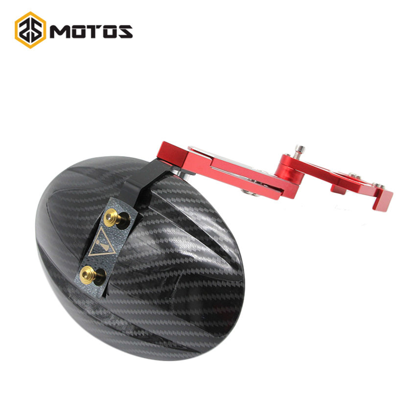 Zs accesorios soporte de guardabarros trasero guardabarros moto motos cnc de alu