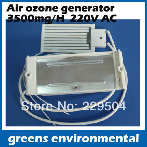free shipping 2pc/lot AC220V long life Ceramic ozone Plate Ozone Generator with 3500mg/h air purifier water ozone sterilizing commercial 3500mg h ozone generator air purifier machine odor smoke industrial