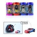 Alta Velocidade de Coca-cola Pode Mini Velocidade Rc Radio Remote Control Corrida de Micro 1/64 Rc Carro elétrico Crianças Brinquedos Do Carro Micro Mini Carro Pequeno Brinquedos