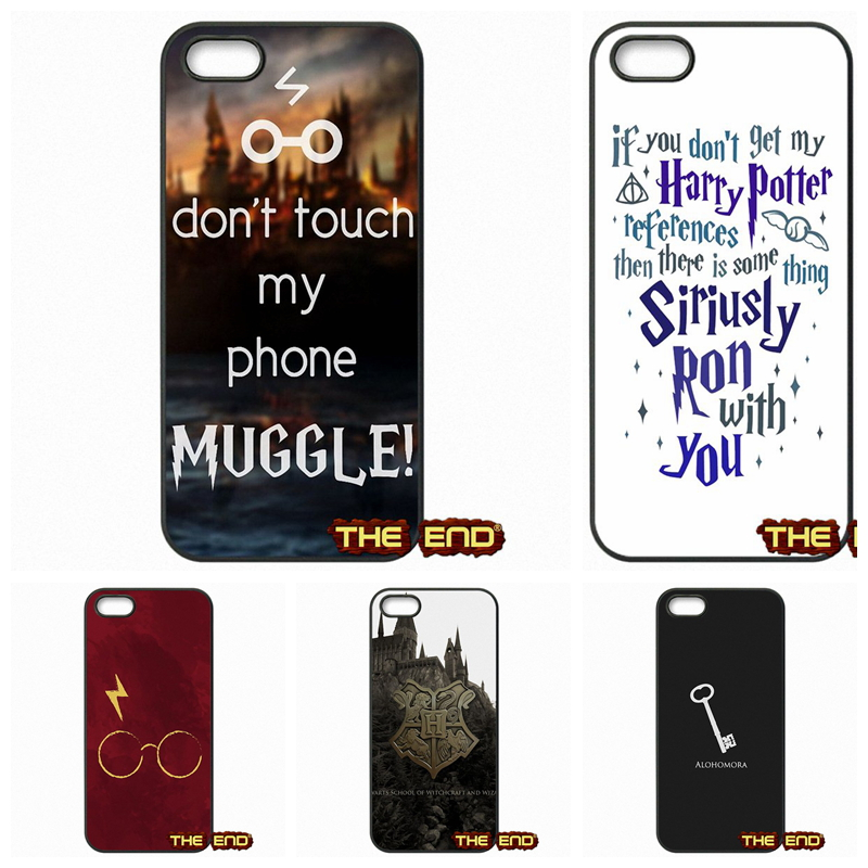 Harry Potter Wallpaper Pattern Cell Phone Cases Covers For