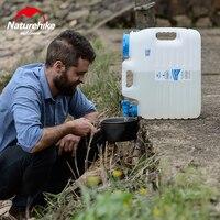Naturehike 10L 12L PE Food Grade Bucket BPA Free White Portable Water Tank Outdoor Camping Climbing