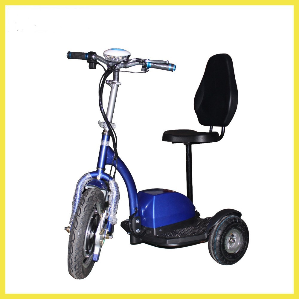 New Arrival Three Wheeled Charged Adult Electric 3 Wheel Scooters