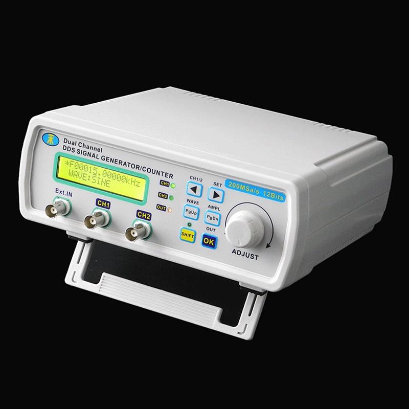 Mini Signal Generator DDS Function generator Digital Dual-channel Arbitrary sine Waveform Frequency generator 200MSas 25MHz