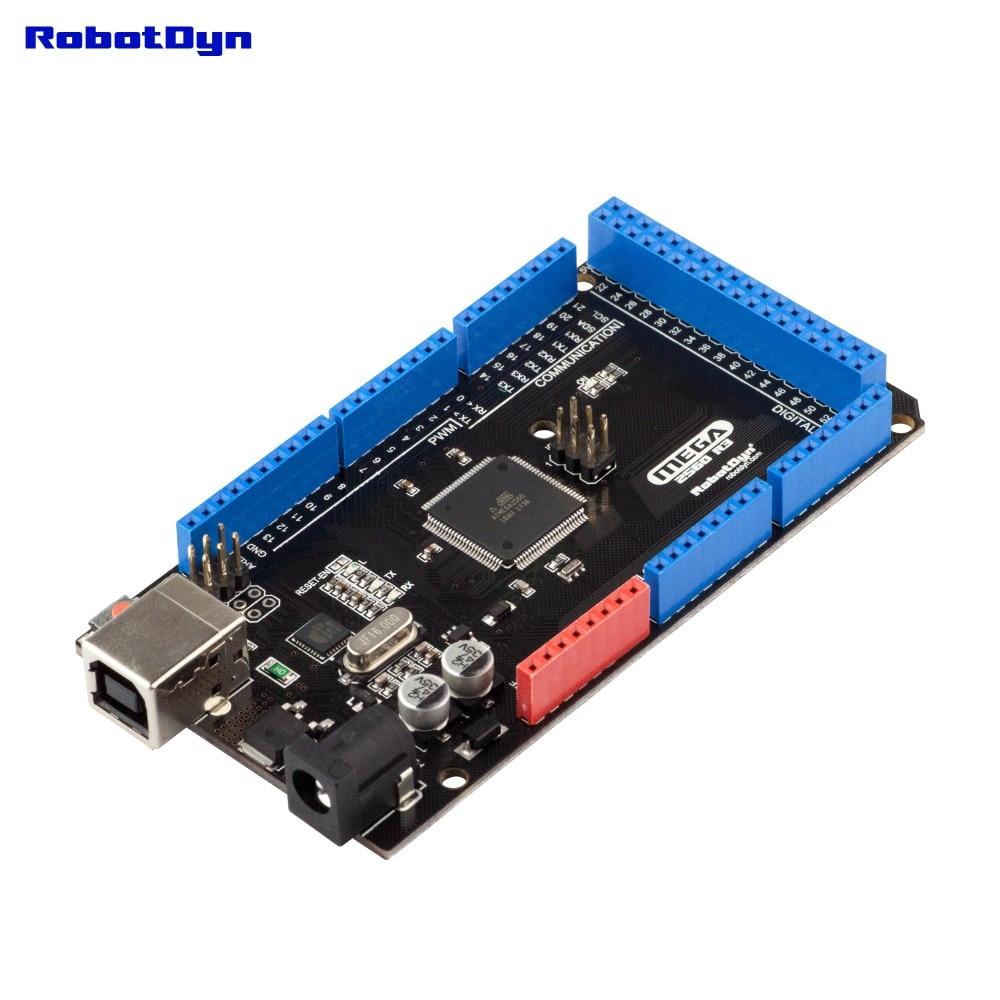 Classic Mega 2560 R3 ATmega16U2+ATmega2560-16AU, USB-B (Arduino-compatible board)