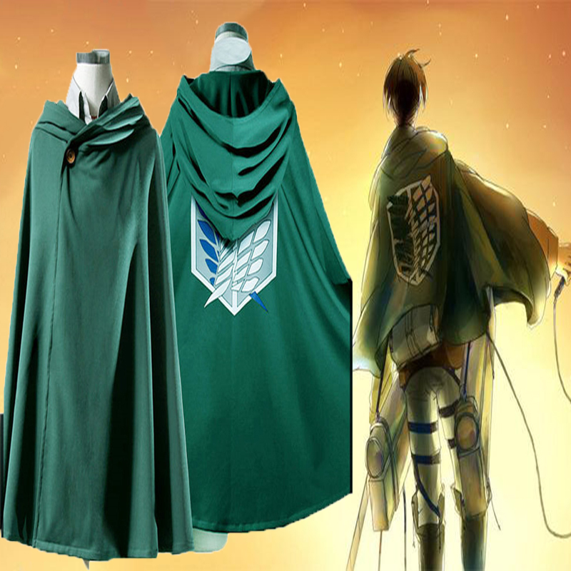 Attack on Titan Survey Corps Wings of Freedom Coat Cosplay Costume,Jacket Only
