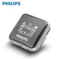 Philips Original Mini MP3 Player Sport Big Screen With Recording Function/FM Radio Earphone Running Back Clip Music SA2208