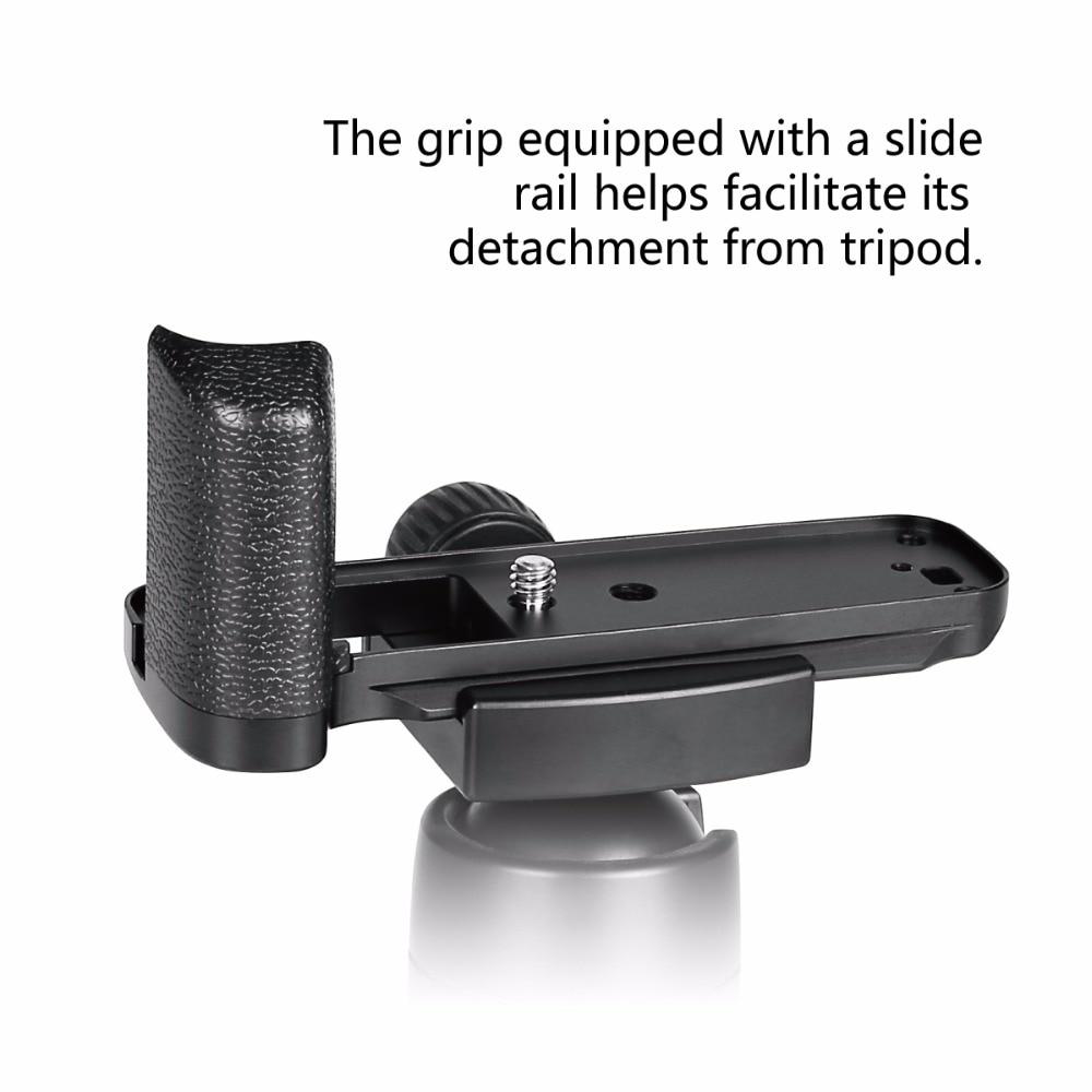 Meike MK-XE3G rukojeť z hliníkové slitiny rukojeť rychloupínací - Videokamery a fotoaparáty - Fotografie 6
