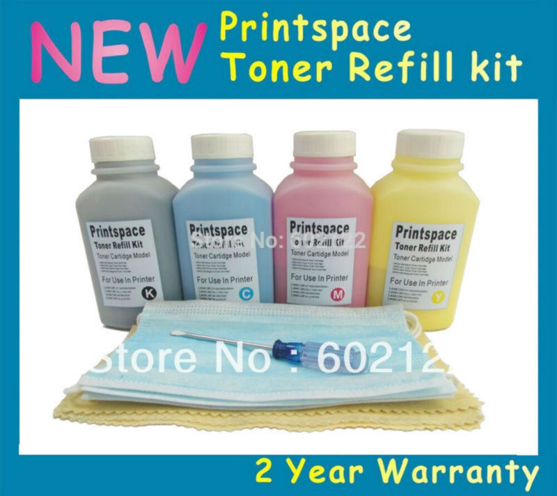 4x Toner Refill Kit Compatible for Epson Laser Printer C900 C1900, SO50097 SO50098 SO50099 SO50100 KCMY clt504 reset laser printer toner chip for samsung clx4195 clx4195n clx4195fn clx4195fw kcmy 3k 2 5k free shipping by dhl