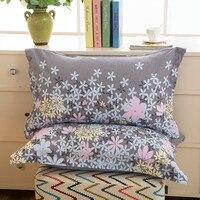 1 sztuka 48cm * 74cm piękno kwiatowy poszewka na poduszkę z nadrukiem 100% poliester poszewka na poduszkę pokrywa do użytku w sypialni XF340 23 w Poszewka na poduszkę od Dom i ogród na