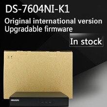 На складе Бесплатная доставка Английская версия DS-7604NI-K1 4CH 4 К NVR один SATA Embedded Plug & Play 4 К NVR без POE