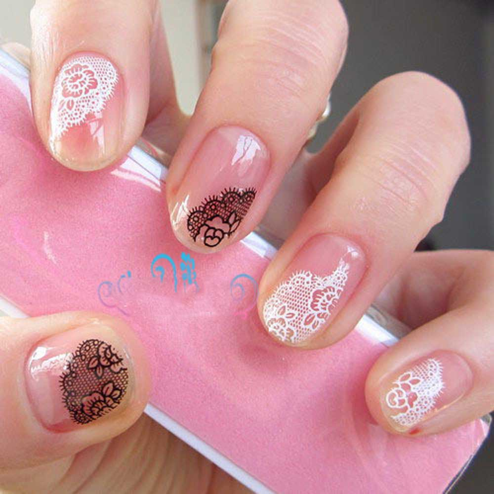 3d Nail Art Stickers Gallery Easy Nail Designs For Beginners Step