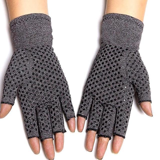 Magnetic Anti Arthritis Health Compression Therapy Gloves Rheumatoid Hand Pain Wrist Rest Sport Safety Glove 3