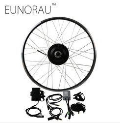 Free Shipping 36V 500W 8fun Bafang 8FANG electric bike front hub wheel motor kit Electric bicycle Conversion Kit
