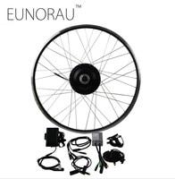 Free Shipping 36V 500W 8fun Bafang 8FANG electric bike front/rear hub wheel motor kit Electric bicycle Conversion Kit