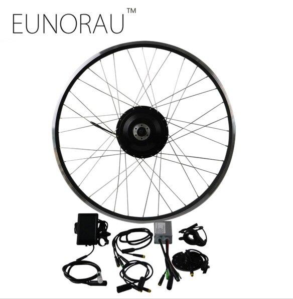 Free Shipping 36V 500W 8fun Bafang 8FANG electric bike front hub wheel motor kit Electric bicycle Conversion Kit