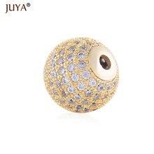 f20d06aee481 Componentes de los resultados de la joyería de lujo cubic zirconia cristal  redondo corona cuentas para diy moda pulseras collar .