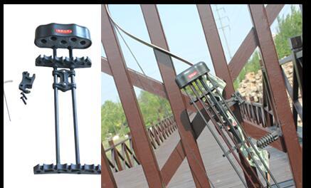 Колчан Стрельба из лука колчаны для Охота блочного Лука стрельба из лука 5 стрелка соединение лук тупик Lite Черный для Охота Каза доступа