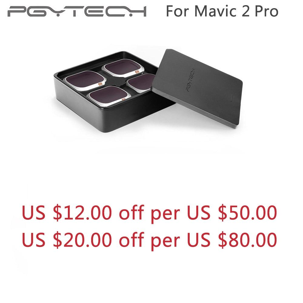 PGYTECH Mavic 2 Pro Advanced Filters ND 8 16 32 64 PL UV CPL ND4 Camera Lens Kit Set For DJI Mavic 2 Pro Filter Drone Accessory