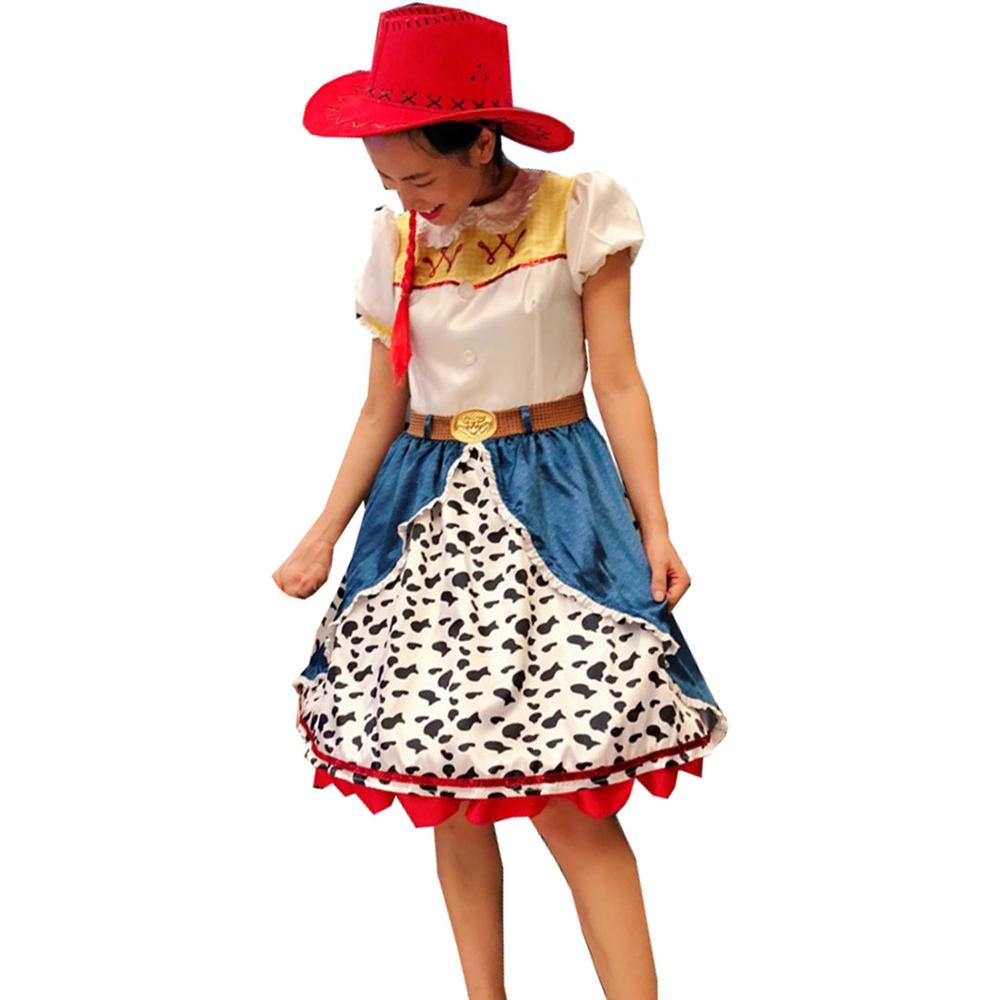 f3e541cdde2d Detalle Comentarios Preguntas sobre 2018 juguetes historia cantar vaquera  Jessie traje del traje de Cosplay de Halloween Disfraces de Carnaval para  adultos ...