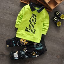 2017 Spring Autumn baby girl /boy clothes Children Casual Sport Suit  2pcs sets for newborn baby girl clothes infant clothing