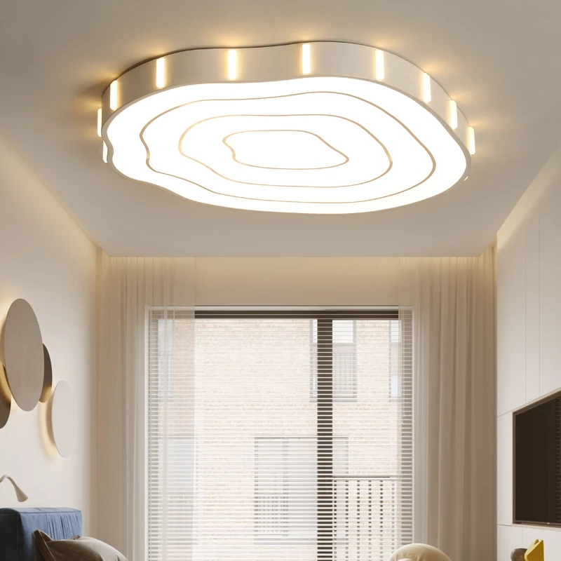 купить Modern Led Ceiling Lights for Bedroom Children Room Flush Mount Lighting Fixtures Ceiling Lamp White Finished Kitchen Round Lamp по цене 4946.82 рублей