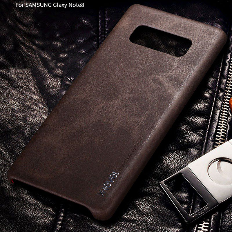 X-Level Phone-Case Samsung Note8 Etui Hard-Cover Luxury Leather Vintage For Galaxy N950