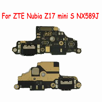 USB Charging Port Board For ZTE Nubia Z17 mini S NX589J Dock Charger Plug Connector Flex Cable Replacement Z17mini S Charge